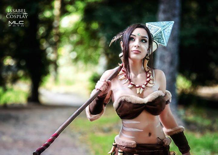 Nidalee (League Of Legends) par IssabelCosplay - photo 6