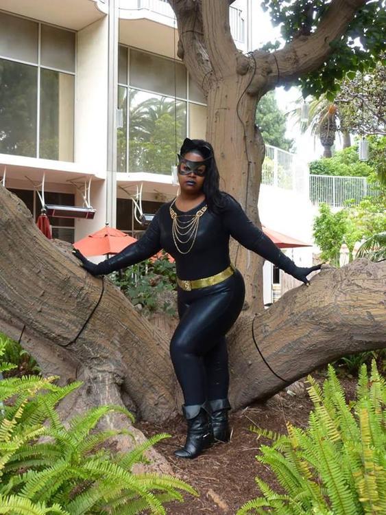 Catwoman (Eartha Kitt) - Batman - Silhouettescosplay - photo 1