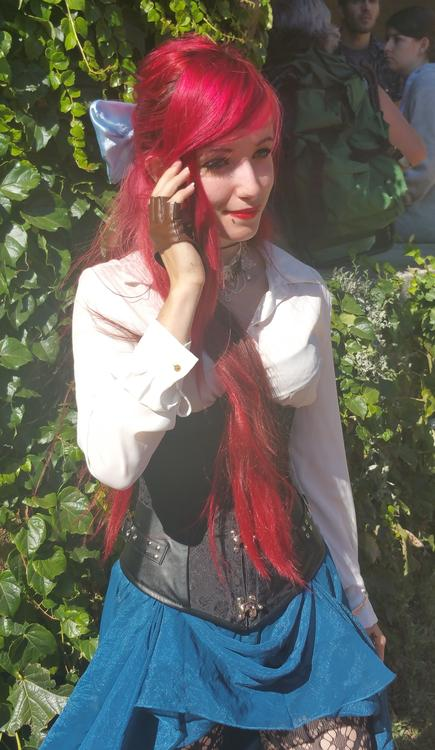 Ariel La petite sirène (The Little Mermaid) - Lee Mia - Lyon Hanabi 2015 - photo 0
