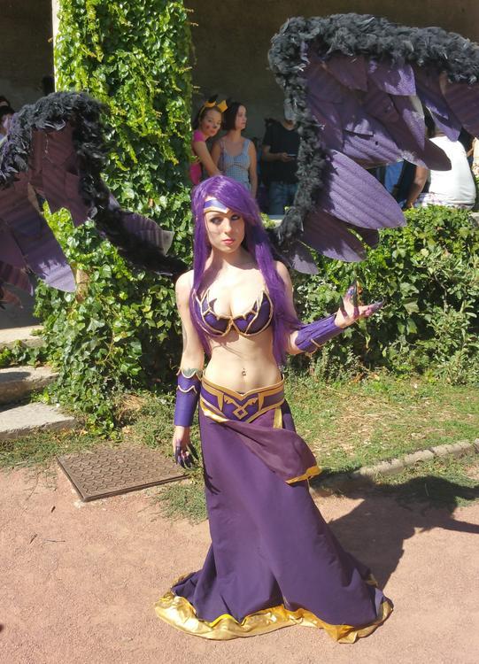 Morgana - League of Legends - Alicia Atkinson - Lyon Hanabi 2015 - photo 0