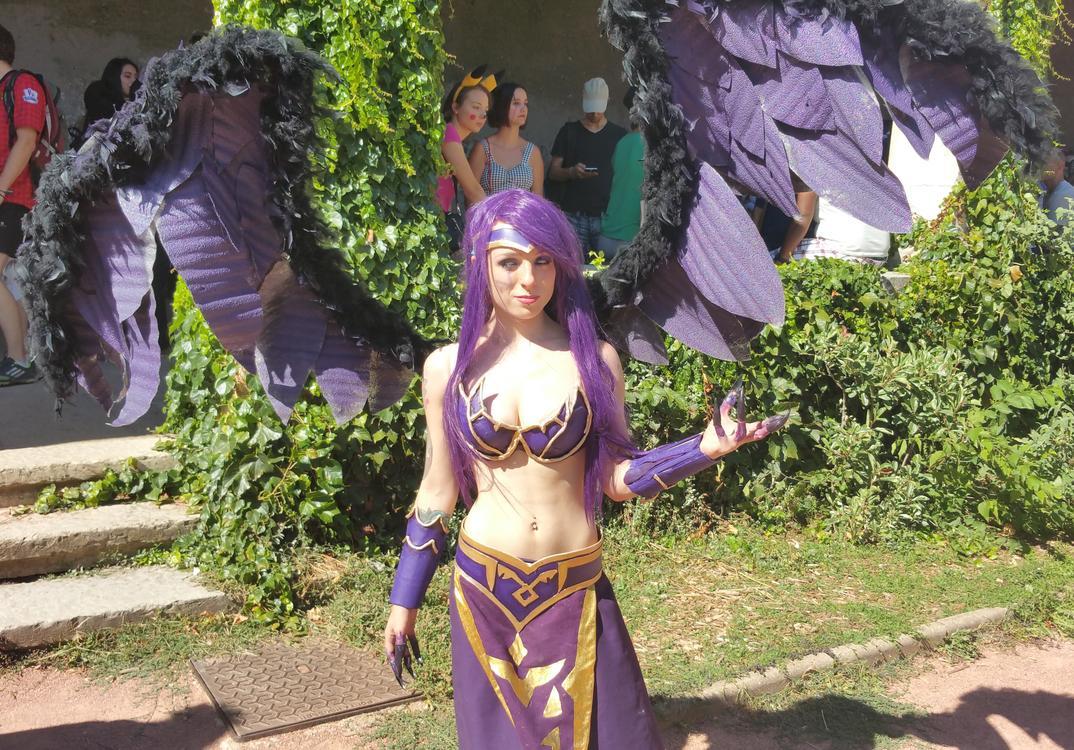 Morgana - League of Legends - Alicia Atkinson - Lyon Hanabi 2015 - photo 1