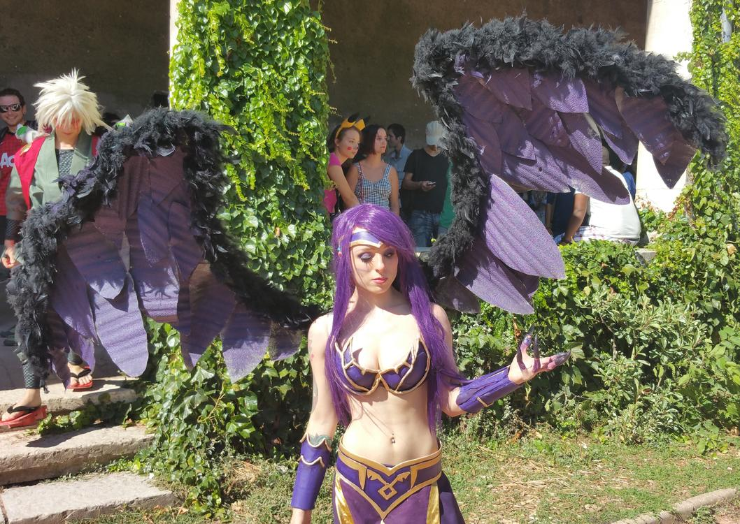 Morgana - League of Legends - Alicia Atkinson - Lyon Hanabi 2015 - photo 2