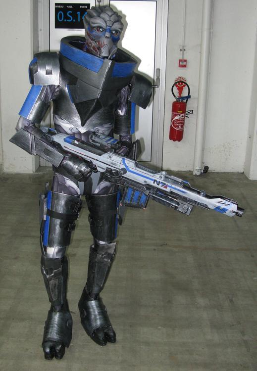 Shepard et Garrus (Mass Effect) - Socracboum Cosplay et Vakarian Cosplay - Japan Touch Haru 2015 - photo 5