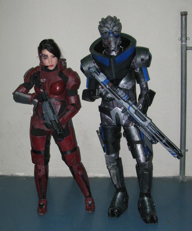 Shepard et Garrus (Mass Effect) - Socracboum Cosplay et Vakarian Cosplay - Japan Touch Haru 2015 - photo 8