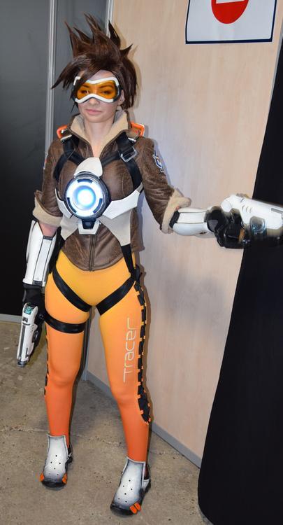 Tracer - Overwatch - Ardsami Cosplay - Paris Manga 2015 - photo 1