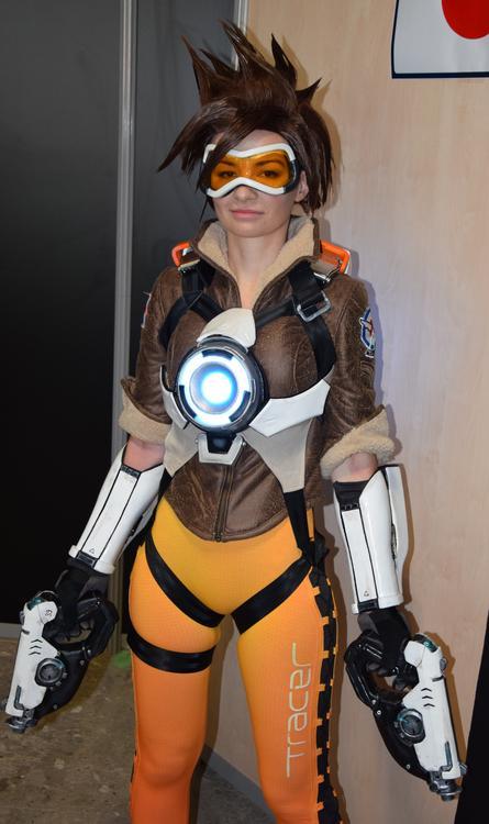 Tracer - Overwatch - Ardsami Cosplay - Paris Manga 2015 - photo 2