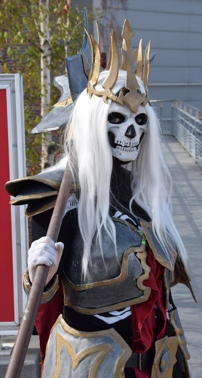 King Of The Dead - Diablo - Eleevya - Paris Manga 2015 - photo 0