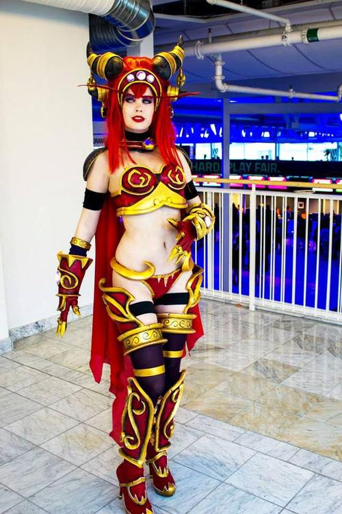 Queen Alexstrasza - World of Warcraft - Tine Marie Riis - photo 2