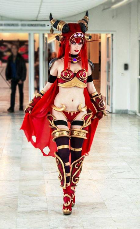 Queen Alexstrasza - World of Warcraft - Tine Marie Riis - photo 5