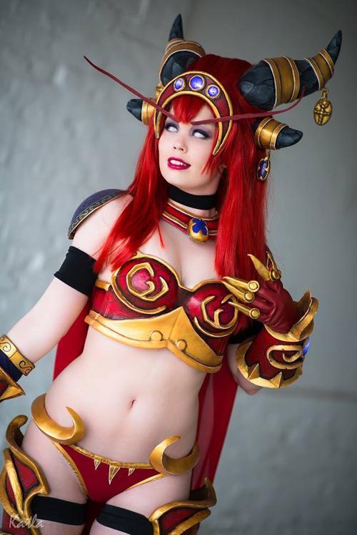 Queen Alexstrasza - World of Warcraft - Tine Marie Riis - photo 6