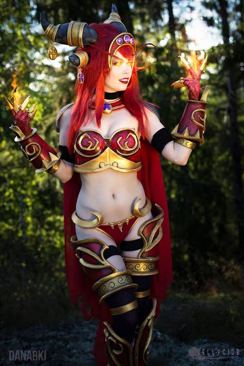 Queen Alexstrasza - World of Warcraft - Tine Marie Riis - photo 8