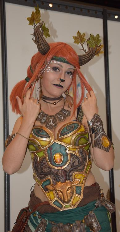 Enchantress - Dota 2 - Ellebasi cosplay - Japan Touch 2015 - photo 0