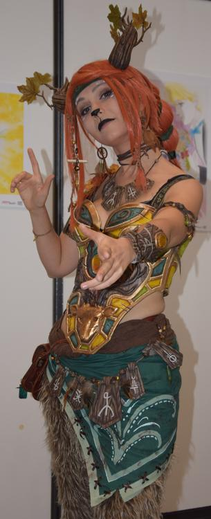 Enchantress - Dota 2 - Ellebasi cosplay - Japan Touch 2015 - photo 4