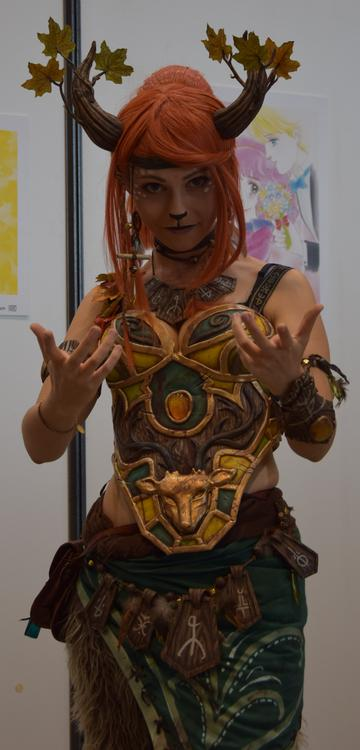 Enchantress - Dota 2 - Ellebasi cosplay - Japan Touch 2015 - photo 6
